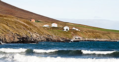 "Landscape (joningic) Tags: autumn houses sea fall nature landscape iceland waves ólafsfjörður ""flickraward"""