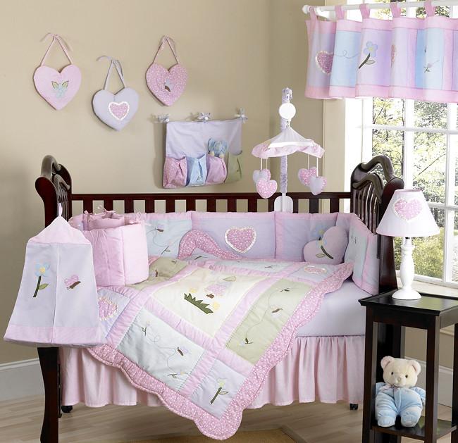 JoJo Designs Sweet Kayla Cribset at www.uniquelinensonline.com