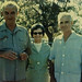 My grandmother with LBJ, 36th president of the USA, and General William Westmoreland