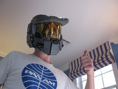 Master Chief Helmet (Benny Brickster) Tags: fight lego chief halo master finish covenant unsc