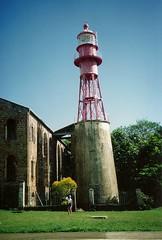 Lighthouse Ile Royale Französisch Guayana