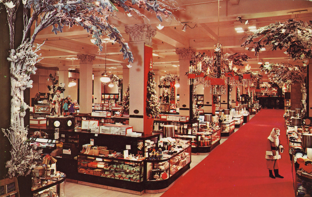 perhaps most memorable for many woodies customers over the years were the elaborate window displays particularly the ones done at christmas time - Woodies Christmas Decorations