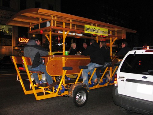 Pedal-Powered Bar