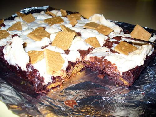 2010-11-14 - Vegan S'Mores Brownies - 0020