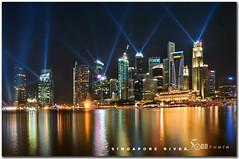 Singapore (fiftymm99) Tags: road urban building skyline skyscraper marina river shopping lights singapore esplanade laser cbd lantern lanternfestival yog boatquay mooncake autumnfestival clarkequay singaporeriver refelection marinabay onefullerton centralshoppingmall nikond300 youtholympicgames fiftymm99