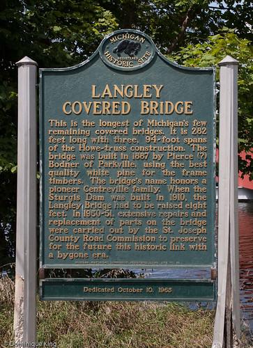Langley Covered Bridge-Michigan-3