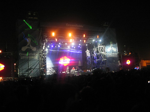 Paul Kalkbrenner in Main Stage @ Creamfields Buenos Aires 2010