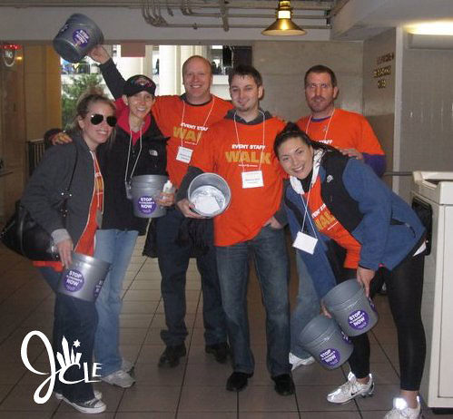 STANDUP SUNDAYS Alzheimer's Association Memory Walk Bucket Brigade 10.3.10