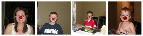 Boys Reindeer Noses OCC