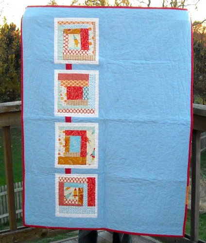 rocket charity quilt
