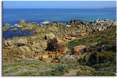 Point Hicks coast and wreck (aaardvaark) Tags: australia vic wreck croajingalong pointhicks 201010021100
