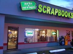 arts and scraps scrapbooks