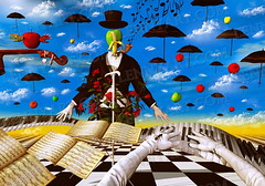 maestro (lennyart) Tags: art contemporary surrealism paintings rene chess surreal magritte salvador dali