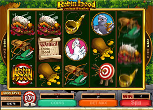 Robin Hood Feathers of Fortune slot game online review
