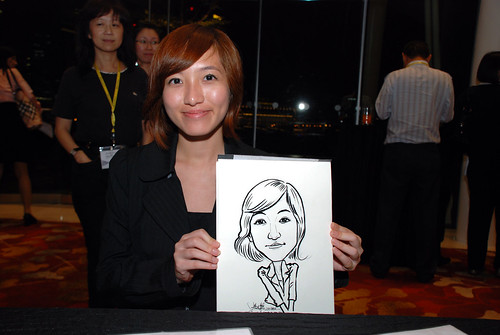 caricature live sketching for 2010 Asia Pacific Tax Symposium and Transfer Pricing Forum (Ernst & Young) - 14