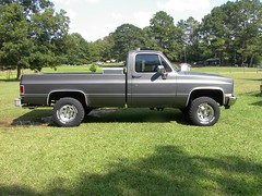 mama's computer 177 (stevenbr549) Tags: chevrolet truck bed long 4x4 gray chevy 1985 k10