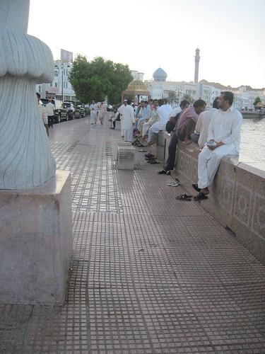 Enjoying The Breezes Along The Muttrah Corniche