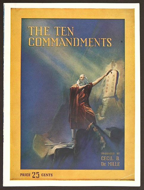TenCommandments1923_ProgramCover