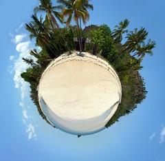 Panoràmica de 360º de la platja d'Andilana