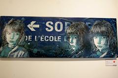 C215 (dprezat) Tags: street urban paris art collage painting stencil tag graf peinture aerosol bombe pochoir c215 sonyalpha700 christianguémy