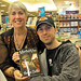"My son, Ryan, and me at the Martha's Vine book signing - (photo by Sylvia Labelle). Please ""sign"" this image during your visit to my photostream."