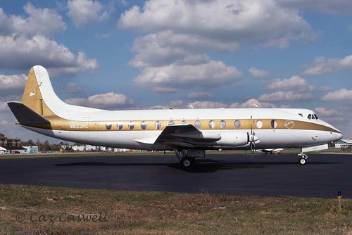 N923RC Viscount 835 Ray Charles