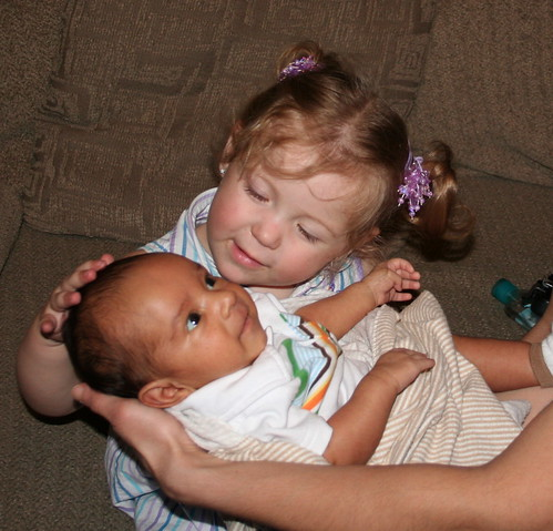 Baby Jayvin and Cheyenne