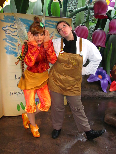 Meeting Fawn in Pixie Hollow