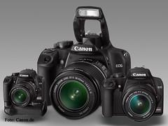 Canon DSLR-Kameras im Überblick