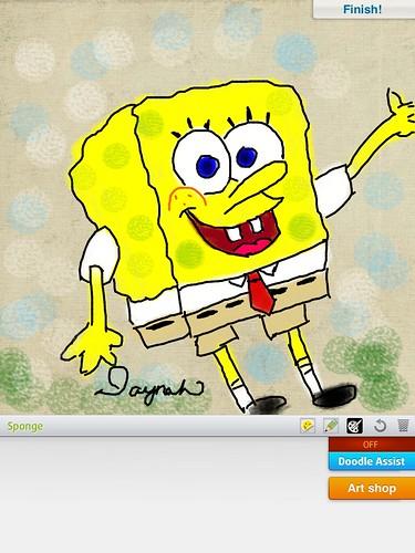 We Doodle: Spongebob