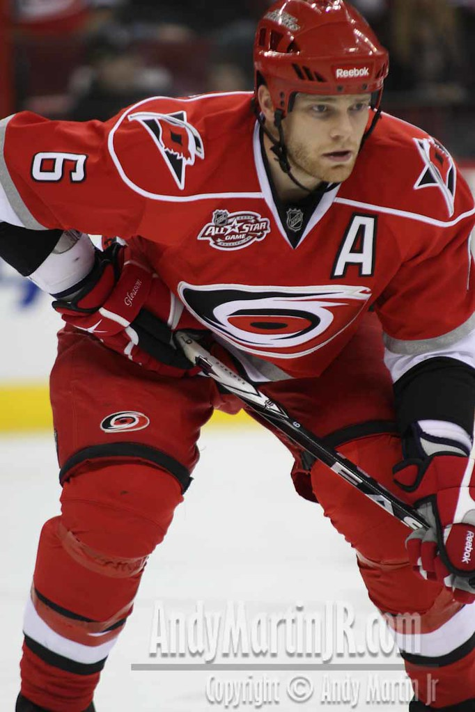 Tim Gleason of the Carolina Hurricanes