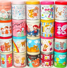 Karel apek Tea Tins Collection (applel0ve) Tags: tea kawaii tins karel capek rilakkuma sanx korilakkuma kiiroitori karelapek  yamadautako