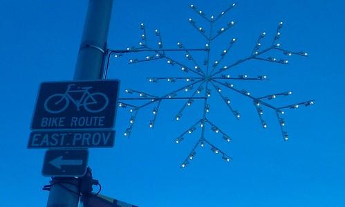 Snowflakes En Route