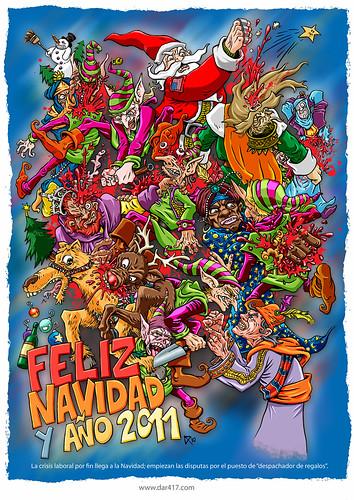 Feliz Navidad y Año 2011