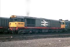 gb_850929_58019TO copy (MUTTLEY'S PIX) Tags: train br rail loco class to bone britishrail 58 16a toton originalscan 58019
