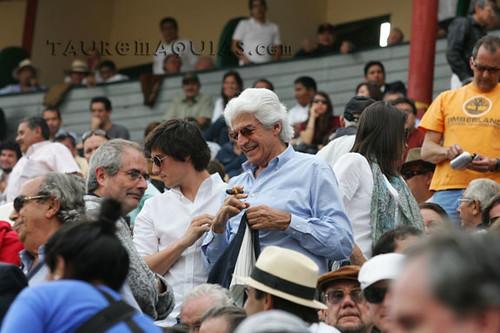 Ortiz de Zevallos, Vella LLona y Juan Ossio en Acho