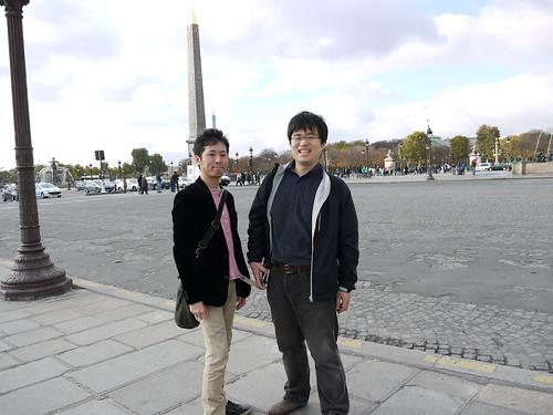 コンコルド広場にて 2010
