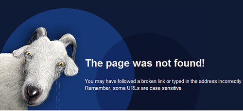 Creepy LJ 404 Error