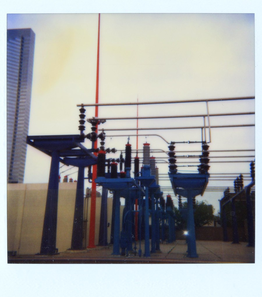 Electrical Power Substation, Houston