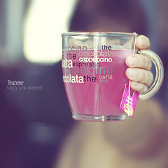Tea|time #01 (mickiky) Tags: pink cup break afternoon hand rosa mano te teatime tazza th pomeriggio