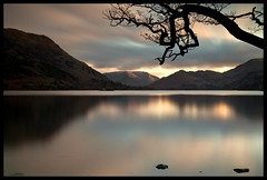 (Northumbria Photography) Tags: longexposure sunset two lake mountains tree canon is lakes lakedistrict cumbria l 5d minutes ullswater 24105 120seconds canonef24105lis canoneos5dmkii thepinnaclehof kanchenjungachallengewinner thepinnacleblog tphofweek73