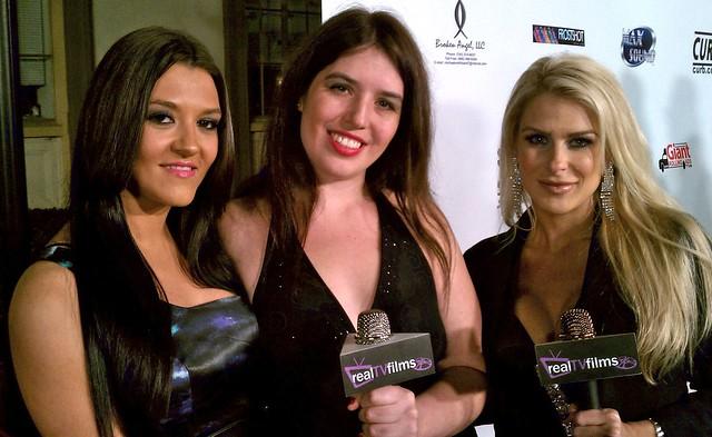 Karin Duseva, Mariah Carradine, Jennifer Lexon, LA Music Awards 2010