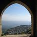 View from window of Krak des Chevaliers