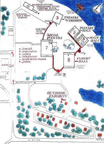 Habitat Forum: site plan