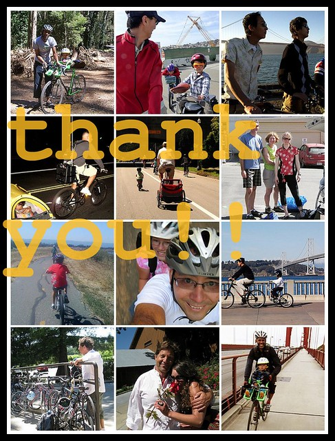 Dads on Wheels: thank you!!