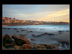 Bronte Beach bathed in Golden Light