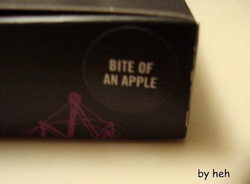 bite of an apple