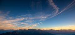 When the Night comes (Clickpix) Tags: schnee winter vacation lake snow ski alps tree snowshoe austria see tirol sterreich wolken berge summit alpen sonne ferien achensee schneeschuhe