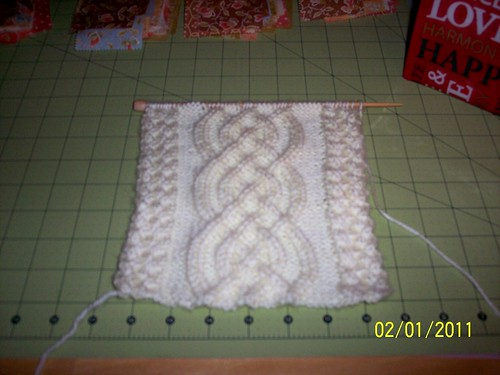 Celtic Cable Scarf
