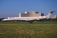 316cu - British Airways Embraer ERJ-145; G-EMBE@CDG;06.09.2004 (Aero Icarus) Tags: plane airport flughafen flugzeug britishairways avion cdg slidescan reupload embraererj145 parischarlesdegaulle gembe regiojet
